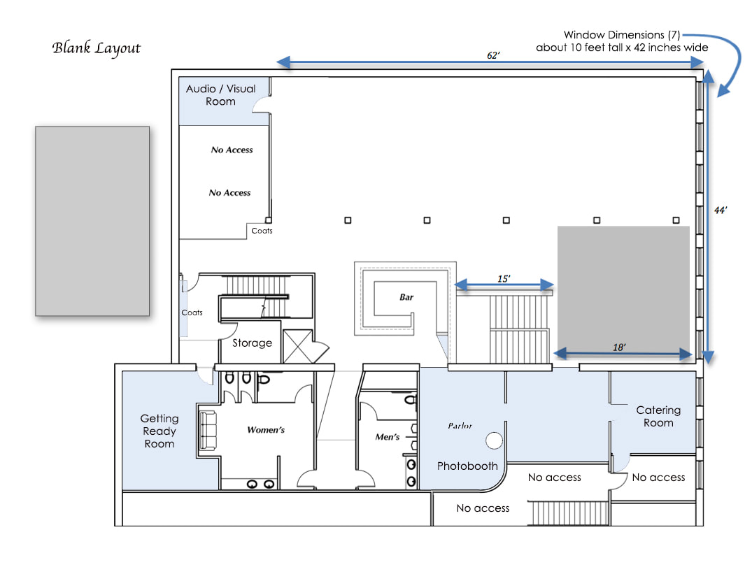 Loft Floorplans One23events